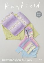 Hayfield Baby Blossom Chunky - 4679 Ponchos Knitting Pattern